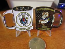 United States Navy USS Monsoon CPO Chiefs Mess Challenge Coin / Bottle Opener