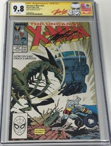 Marvel Uncanny X-men #233 Signed Stan Lee & Chris Claremont CGC 9.8 SS Red Label