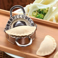 Dumpling Maker Wraper Dough Cutter Eco-Friendly Pastry Tools Stainless Steel UK