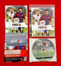 FIFA 10 - PLAYSTATION 3 - PS3 - USADO - MUY BUEN ESTADO
