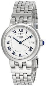 TUDOR Clair de Rose Automatic SS Opaline Dial Women's Watch M35800-0001