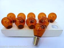 (0,88€/Einheit) 10 x NARVA® 12V 21W PY21W Sockel BAU15s amber gelb Blinklicht