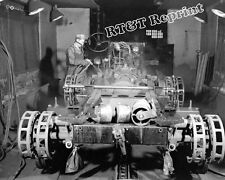 Photograph WWII Half Track Scout Production Paint Line  Year 1941  8x10