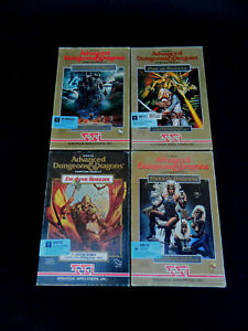 Advanced Dungeons & Dragons AD&D IBM PC Boxed Games Collection of 4