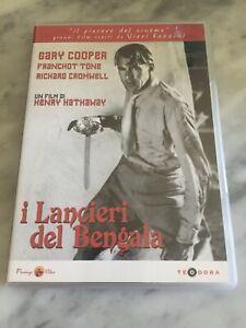 "DVD ""I LANCIERI DEL BENGALA"" GARY COOPER ED. VENDITA FLAMINGO VIDEO ITALIA"
