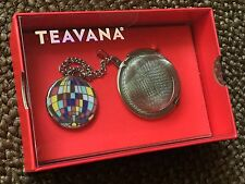 NIB! TEAVANA TEA BALL INFUSER Mesh Strainer For Loose Leaf TEA - Decor Handle!