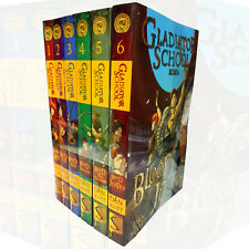 Gladiator School Collection By Dan Scott 6 Books Set Blood Oath,Blood & Fire New