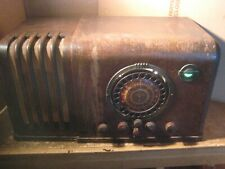 Airline Tele-Dial Am/Sw Table Radio Works