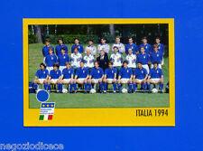 AZZURRI CON IP ITALIA - Merlin - Figurina-Sticker n. - SQUADRA ITALIA 1994 -New