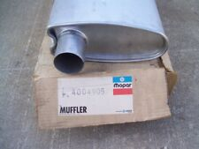 NOS MoPar 1979 79 Chrysler Dodge Plymouth 360 cu.in V8 EXHAUST MUFFLER 4004905