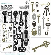 DOCRAFTS XCUT LARGE DIES LOCKS AND KEYS WITH MAGNETIC SHIM - NEW UNIVERSAL FIT