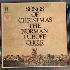 Norman Luboff Choir - Songs Of Christmas -1955 Columbia vinyl LP album reissue