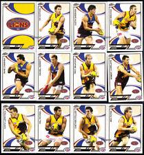 2006 AFL SELECT SUPREME Stars Logo BRISBANE LIONS FULL BASE TEAM SET 12 Cards