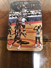 1985-85 Temple Owls College Basketball Pocket Schedule PATRICK EWING