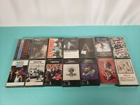 14 80s Rock cassette Tapes Trafic steppenwolf nazz ac/dc troggs slash motley