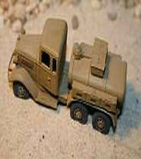 MGM 080-037 1/72 Resin WWII Japanese Isuzu 6X4 Type 94A 1.5t Fuel Truck