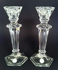 Fifth Avenue Crystal Palisades 9 Inch Candlestick Pair