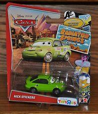 Disney Pixar Cars Radiator Springs Classic Nick Stickers Y8462 NEW