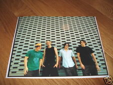Hoobastank Sexy Cool 8x10 Color Band Promo Photo #2