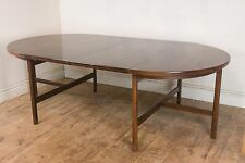 Vintage Retro Brazilian Rosewood Large Extending Dining Table by Archie Shine