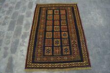 B64 Vintage Handmade Afghan Sumik Ryg / Turkish Decor Kelim Rug 2'10 x 4'2 Feet