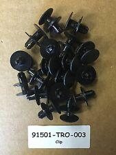 QTY 15: OEM Fender Push Type Retainer Clips For Honda Acura 91501-TRO-003 USA