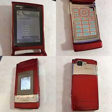 CELLULARE NOKIA N76 GSM FOTOCAMERA PIEGHEVOLE ROSSO UNLOCKED SIM FREE DEBLOQUE