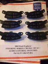 2003 Ford Explorer STEERING WHEEL CRUISE & AUDIO HVAC SWITCH s    1L2T-14K147-BA