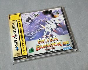 [ SAT ] AFTER BURNER II - Classic Arcade SHMUP - Sega Saturn JAPAN Sega Ages