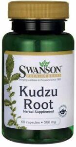 Kudzu Root Wurzel Kapseln Pueraria montana Pflanze 120 Kapseln, 500mg