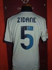 ZIDANE REAL MADRID 2012/2013 MAGLIA SHIRT CALCIO FOOTBALL MAILLOT JERSEY SOCCER