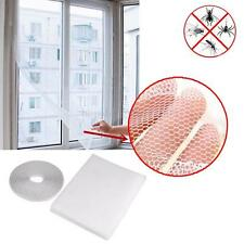 Window Net Fly Insect Mosquito Bug Mesh Screen Door Curtain Flyscreen Stick Tape
