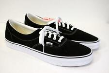 NEW VANS Black White CLASSIC CANVAS SNEAKER Low Top Tennis Shoes Mens 16 M