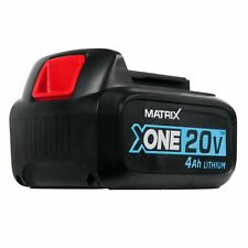 MATRIX 20v X-ONE Lithium-ion Battery 4.0Ah power tools