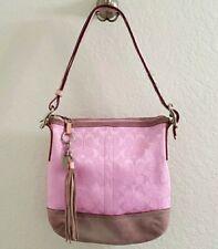 Coach pink purse, shoulder bag, purse