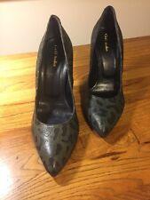 Zapatos De Tacón Cuero Zapatos Griff Italia Talla UK3.5 EU 36 Tacón Alto Leopardo Animal Print