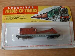 Lone Star Treble O Trains 82 100 Ton Breakdown Crane N/000