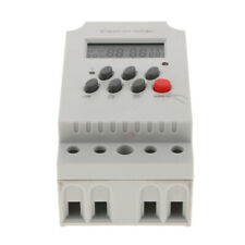 7 Days 24H Programmable LCD Digital Relay Timer Switch Mini Time Relay AC/DC 12V