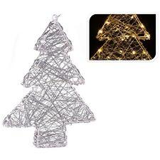 Hängeleuchte Batteriebetrieb Timer Leuchte Weihnachtsbaum 40LED 40cm warmweiß
