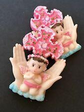 12 Communion Favors Baptism Keepsake Recuerdos Figurine Christening Magnets Girl