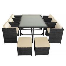 Garten-Tische & Stuhl-Sets aus Kunststoff mit bis 8 Sitzplätzen