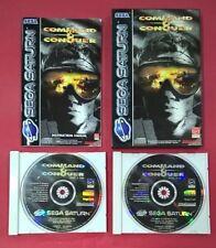 Command & Conquer - SEGA SATURN - USADO - MUY BUEN ESTADO