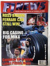 F1 NEWS FORMULA ONE MAGAZINE 1998 No. 9 May 30  Formel 1