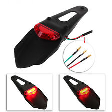 MOTORCYCLE Tail Light Rear Fender LED Enduro Stop For CRF KTM EXC WRF UK STOCK