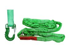 Usa Domestic Endless Round Sling Green With Hook Combo Crane Wrecker Towing
