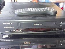 Magnavox VCR Model VRT462 with VCR Plus remote
