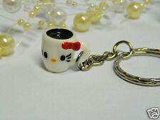 CUTE HELLO KITTY CUP OF TEA/COFFEE KEYRING/Keychain/bag charm