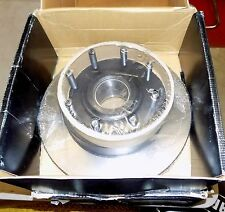 NOS DURALAST FRONT BRAKE ROTORS & HUB 42259 SD FORD F250 F350 2WD