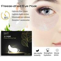 60Pcs/set Gold Hydrogel Eye Patch Firming Eye Mask Eye Pads. Gel Collagen G4B8