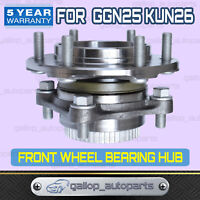 FRONT WHEEL BEARING COMPLETE HUB FOR TOYOTA HILUX 4WD KUN26R GGN25R 2005-2015